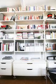 Home Office Bookshelves by Ikea Bookshelves Hack Office Bookshelves Ikea Hack And