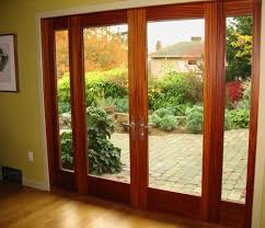 exterior door with blinds between glass french doors with sidelights and blinds between glasses french