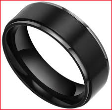 black wedding ring lovely black wedding rings men image of wedding ring planner www