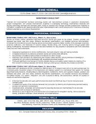 Sample Resume For 2 Years Experience In Mainframe by Consultant Resume Sample Berathen Com