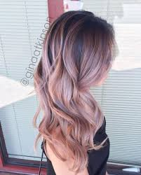 best 25 rose gold balayage ideas on pinterest rose hair color