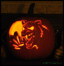 werewolf pumpkin by nashoba hostina on deviantart