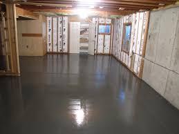 Concrete Basement Wall Ideas by Paint Concrete Basement Floor Basements Ideas