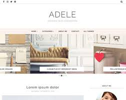responsive blogger templates themes by bloggertemplate on etsy