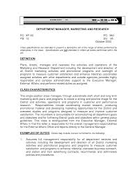 A Resume Example In The by Career Goal For Resume Examples Resume Objective Examples Is