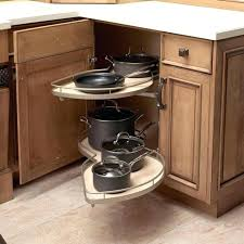 Kitchen Cabinet Storage Options Lazy Susan Storage Ideas Appealing Kitchen Cabinet Ideas Blind