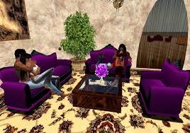 purple living room set living room