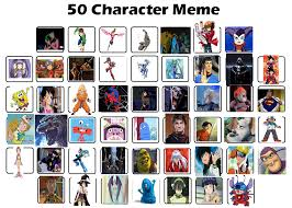 Memes Characters - top 50 characters meme dj s by shadow dj on deviantart