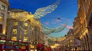 london christmas lights walking tour london walk regent street christmas lights and xmas window
