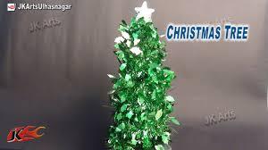 how to make christmas tree with garland diy christmas
