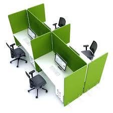s aration de bureau paravent de bureau simple qualidesk claustra cloison mobile et crans