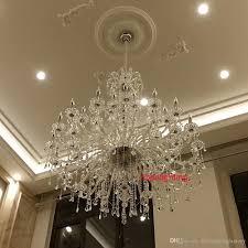 Cristal Chandeliers modern large crystal chandelier for foyer big crystal chandelier
