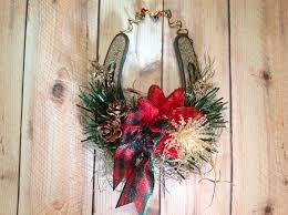 horseshoe ornament celtic horseshoe rustic