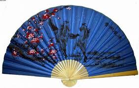 oriental fans wall decor classic 35 oriental feng shui wall fan blue horses