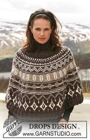 drops design poncho snow by drops design a lovely poncho with different