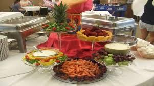 catering receptions parties food menus