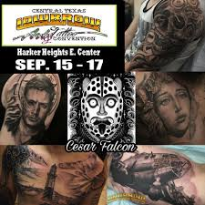 tattoo convention killeen tx the super homie cesar falcon owner of central texas lowbrow art