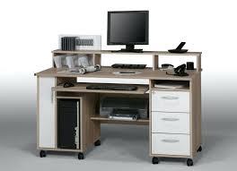 bureau avec rangement imprimante bureau informatique but bureau pour ordinateur portable et