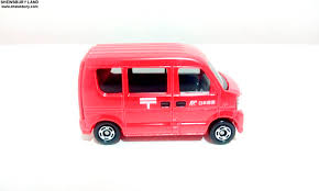 suzuki every van tomica suzuki every japan post van