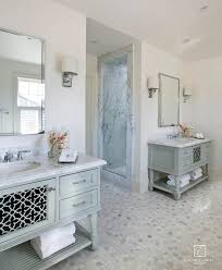 gold bathroom mirror with wood trim powder room traditional and