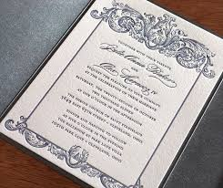 the 25 best metallic letterpress wedding invitation ideas ideas