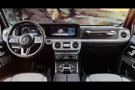 mercedes dashboard mercedes benz reveals interior of redesigned 2019 g class photo