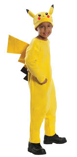 pokemon pikachu child bys girls costume fancy dress up ebay