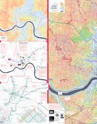 Map Cincinnati Rethinking The Urban Bike Map For The 21st Century Wessel