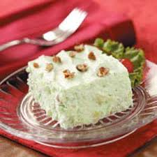 pear lime gelatin salad recipe taste of home