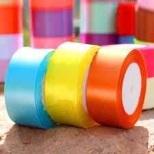 wide ribbon 4cm wide ribbon different color plastic ribbons satin ribbon