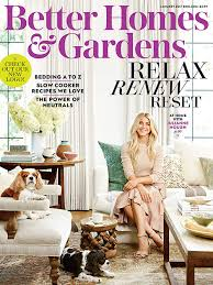 better homes and gardens magazine subscriptions renewals gifts
