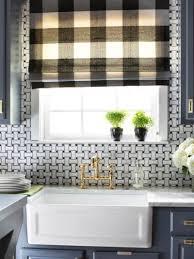 design amusing glass window kitchen treatment varnished wooden