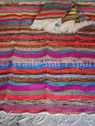 Sari Rug Handloom Art Indian Handmade Rugs Carpets Floor Carpet Vintage