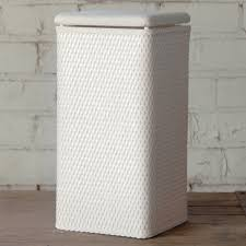 double laundry hamper with lid hamper with lid