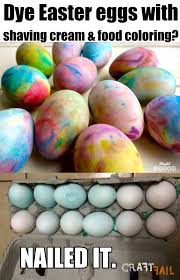 dyed egg duds craftfail