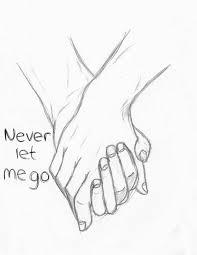 hello stalker never let me go forever holding hands couple