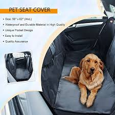 top 8 best car seat covers for dogs in 2017 that are easy to clean