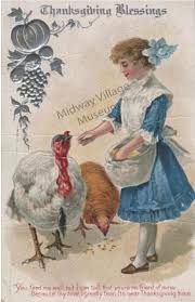 vintage thanksgiving clipart holidays midway village museum collections page 2