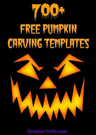 free pumpkin carving templates over 700 free printables