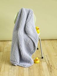 knitting pattern quick baby blanket cuddle tight baby blanket in lion brand wool ease thick quick