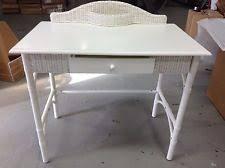 White Wicker Desk by Pottery Barn Kids Desk Ebay
