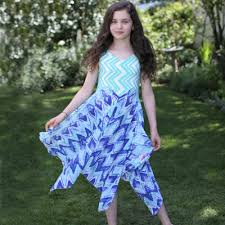 boutique dresses twirly pretty colorful summer style