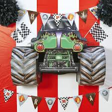 monster jam truck party supplies d i y monster truck wall decor my style pinterest monster