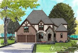 english tudor baucom plan 3910 edg plan collection