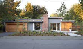 small ranch home plans modern ranch style early eichler expansion klopf architecture