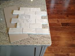 Limestone Backsplash Kitchen by Kitchen Eciting Beige Tumbled Marble Backsplash Combine Glass