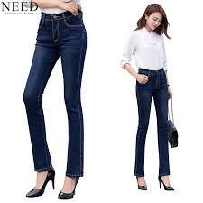 Flared High Waisted Jeans Online Get Cheap Bell Bottom Jeans Aliexpress Com Alibaba Group