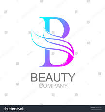 abstract letter b logo design template stock vector 357301208