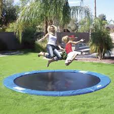 13 an in ground trampoline this takes trampolining to a whole new level