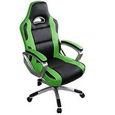 life carver high back racing sport gaming chair recliner pu